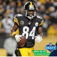 6th round. 195th overall.  Eight years ago today, the @steelers selected @AB84 in the @NFLDraft. https://t.co/y0mfVHnBfG: Steelers  DAR  NFL  NFL  DRAFT  2018  APRIL 26-28  NFL NETWORK FOX ESPN 6th round. 195th overall.  Eight years ago today, the @steelers selected @AB84 in the @NFLDraft. https://t.co/y0mfVHnBfG