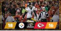 AFC Championship Game, Memes, and Steelers: Steelers  FINAL  NFL  DIVISIONAL  16 A FINAL: The @Steelers will play in the AFC Championship Game! HereWeGo NFLPlayoffs