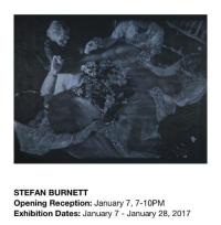Dank, Los Angeles, and 🤖: STEFAN BURNETT  Opening Reception: January 7, 7-10PM  Exhibition Dates: January 7 January 28, 2017 943 N. Hill St. Los Angeles, CA 90012