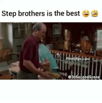 Funny, Step Brothers, and Best: Step brothers is the best  odclips.com  @30Second Scene stepbrothers is the best 😂😂💀💀