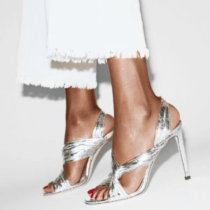Step into Spring and team LALIA in silver with crisp white denim. http://bit.ly/LALIA_METALLIC: Step into Spring and team LALIA in silver with crisp white denim. http://bit.ly/LALIA_METALLIC