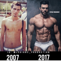 🔥😳TRANSFORMED! Founder 👉: @king_khieu. 2007 to 2017. Thoughts? 🤔 What do you guys think? COMMENT BELOW! Athlete: @stepan_pereverzev. Photography 📸: @vishnyakovpro. TAG SOMEONE who needs to lift! _________________ Looking for unique gym clothes? Use our 10% discount code: LEGIONS10🔑 on Ape Athletics 🦍 fitness apparel! The link is in our 👆 bio! _________________ Principal 🔥 account: @fitness_legions. Facebook ✅ page: Legions Production. @legions_production🏆🏆🏆.: STEPAN PEREVERZEV  CALVIN K  I G  L E G I0NS PRO DU C TI0 N  2007  2017 🔥😳TRANSFORMED! Founder 👉: @king_khieu. 2007 to 2017. Thoughts? 🤔 What do you guys think? COMMENT BELOW! Athlete: @stepan_pereverzev. Photography 📸: @vishnyakovpro. TAG SOMEONE who needs to lift! _________________ Looking for unique gym clothes? Use our 10% discount code: LEGIONS10🔑 on Ape Athletics 🦍 fitness apparel! The link is in our 👆 bio! _________________ Principal 🔥 account: @fitness_legions. Facebook ✅ page: Legions Production. @legions_production🏆🏆🏆.