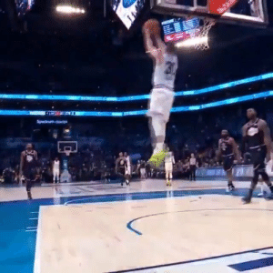 Steph Curry's reverse dunk off the bounce in the All-Star game.    https://t.co/notWYZYFoA: Steph Curry's reverse dunk off the bounce in the All-Star game.    https://t.co/notWYZYFoA