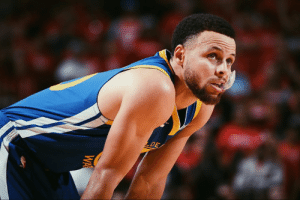 Steph in the 4th quarter and overtime last night:  0 points 0-6 FG: Steph in the 4th quarter and overtime last night:  0 points 0-6 FG