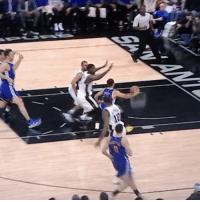 Basketball, Golden State Warriors, and Sports: Steph obviously took 2 steps on this play. Steph called for travel. 🤦🏽♂️