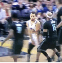 Basketball, Golden State Warriors, and Sports: Steph with the filthy no-look pass to a slashing Andre. Steph never even looked. 💀