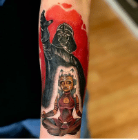 Memes, Work, and Tattoo: @stephanienuzzolilo is a tattoo artist at CoffinBirth Tattoo with a colorful and intriguing body of work! Here are just a few of her many masterpieces ❤️ SWIPE ☜