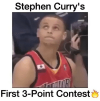 Stephen Curry Crying: Stephen Curry's  First 3-Point Contest