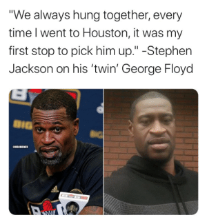 Stephen Jackson fires back at Donald Trump after George Floyd comments: https://t.co/GZcO0Do8vv https://t.co/eydeo0nFt2: Stephen Jackson fires back at Donald Trump after George Floyd comments: https://t.co/GZcO0Do8vv https://t.co/eydeo0nFt2