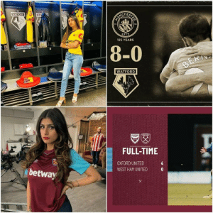 The Drake effect by Mia Khalifa https://t.co/vstaZmJ7bb: STER  WATFORD  WAT  R0  TFORD  94  18  CITY  125 YEARS  ortsbet.i  8-0  BERI  WATFORD  WSTHTY  aXFORD  MIT  FULL-TIME  4  OXFORD UNITED  WEST HAM UNITED  betway The Drake effect by Mia Khalifa https://t.co/vstaZmJ7bb