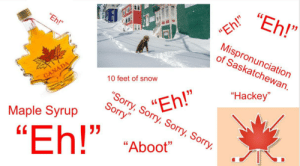 Stereotypical Canada Starter Pack: Stereotypical Canada Starter Pack