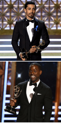 Sterling K. Brown  Riz Ahmed had a post-Emmys convo about how sweet it is to be seen and appreciated for what you are. Proud of them both.: Sterling K. Brown  Riz Ahmed had a post-Emmys convo about how sweet it is to be seen and appreciated for what you are. Proud of them both.