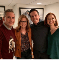 "steve carell hosted SNL and brought back a few friends from the office 😀 TheOffice.AF (link in bio) or ""OfficeChristmas"" on your app store for Office Christmas Sweaters🎄❄️🎄 ———— theoffice dundermifflin dwightschrute michaelscott theofficeshow: steve carell hosted SNL and brought back a few friends from the office 😀 TheOffice.AF (link in bio) or ""OfficeChristmas"" on your app store for Office Christmas Sweaters🎄❄️🎄 ———— theoffice dundermifflin dwightschrute michaelscott theofficeshow"