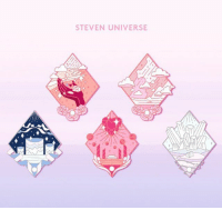 Memes, Happy, and Steven Universe: STEVEN UNIVERSE these beauties are now available for pre order at @curamoon_studio ! get one, two, or the whole set and when you order the whole set, make sure you use code LOVESU for a discount! Happy pre-ordering! 💖 stevenuniverse enamelpin enamelpins pins pin cartoonnetwork