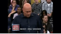 Memes, Watch, and 🤖: STEWE  WILKOS INCEST: DNA SHOCKER i cant watch this without laughing