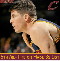 MILESTONE: Last night, Kyle Korver passed Vince Carter and Jamal Crawford sliding into 5th on the All-Time Made 3s List. TAGS: TeamCavsIG Cle Cleveland Cavaliers Cavs CavsNation ClevelandCavaliers GoCavs NBA NBATV ESPN Sports Nike Basketball BallIsLife StriveForGreatness AllForOne ThisIsCle Believeland TheLand TheQ Finals Together Witness KobeBryant TeamCavsIG Ipromise NBAFinals Ohio CTown: STH ALL-TIME ON MADE 3s LIST MILESTONE: Last night, Kyle Korver passed Vince Carter and Jamal Crawford sliding into 5th on the All-Time Made 3s List. TAGS: TeamCavsIG Cle Cleveland Cavaliers Cavs CavsNation ClevelandCavaliers GoCavs NBA NBATV ESPN Sports Nike Basketball BallIsLife StriveForGreatness AllForOne ThisIsCle Believeland TheLand TheQ Finals Together Witness KobeBryant TeamCavsIG Ipromise NBAFinals Ohio CTown