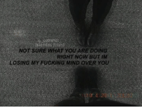 Jesus fucking Christ. -Lilith: stheticc  (oisotot0Q)fckety)  NOT SURE WHAT YOU ARE DOING  RIGHT NOW BUT IM  LOSING MYFUCKING MIND OVER YOU  or.4  .20 Jesus fucking Christ. -Lilith