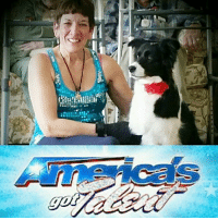 Freestyling, Memes, and America's Got Talent: :/sti Big congratulations to Canine Camp Getaway's Canine Freestyle Dance teacher, Caryn, and her beautiful pup Carina! Their audition for America's Got Talent went so well today, they've been asked to stick around to dance for the show's executive producers! You've always been our super star, Caryn, and now the rest of the world is going to find out just how incredibly talented you are! #dancingqueen #carynandcarinagottalent #ourcampstaffrocks #followyourdreams