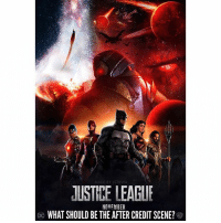 Should JusticeLeague Have an After Credits Scene ? 🤔 Maybe with GreenLantern or Darkseid…I could definitely see that. 😍🙌🏽 Also you can't say they don't have AfterCreditScene's in the DCFilms…we got one with BruceWayne and AmandaWaller in SuicideSquad. 🤷🏽‍♂️ Can't wait for that New JL Trailer at SDCC2017 ! DCExtendedUniverse 💥 ( DCEU Art By : @jstilwa ) 👏🏽 DCComics: STI  JUSTIEE LEAGUR  NOVEMBER  WHAT SHOULD BE THE AFTER CREDIT SCENE? Should JusticeLeague Have an After Credits Scene ? 🤔 Maybe with GreenLantern or Darkseid…I could definitely see that. 😍🙌🏽 Also you can't say they don't have AfterCreditScene's in the DCFilms…we got one with BruceWayne and AmandaWaller in SuicideSquad. 🤷🏽‍♂️ Can't wait for that New JL Trailer at SDCC2017 ! DCExtendedUniverse 💥 ( DCEU Art By : @jstilwa ) 👏🏽 DCComics