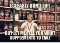 Whey Protein, Vip, and Lift: STICLEARLY DONT LIFT  BUTLET ME TELL YOU WHAT  SUPPLEMENTS TO TAKE Join our VIP club, and get 10% off our $150 2kg whey protein.