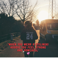 """Congrats @yaelmarah__ you're the wolfie of the week 💞 Want yours ? Click the link in our bio to buy it 😘❤️: STILINSKI  WHEN YOU WEAA A TILINSKI  HOODIE YOU FEEL STRONG  AND POWEA  ARUL"""" Congrats @yaelmarah__ you're the wolfie of the week 💞 Want yours ? Click the link in our bio to buy it 😘❤️"""