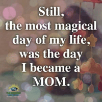 Life, Memes, and Compassion: Still  the most magical  day of my life,  was the day  became a  MOM. Understanding Compassion ❤️