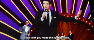 peik-lin:  John Mulaney WinsOutstanding Writing for a Variety Special forJohn Mulaney: Kid Gorgeous at Radio City: still think you made the right dedision. peik-lin:  John Mulaney WinsOutstanding Writing for a Variety Special forJohn Mulaney: Kid Gorgeous at Radio City