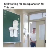 Memes, Waiting..., and 🤖: Still waiting for an explanation for  This one Follow @comediic for more😂😂 - Credit: Unknown (DM for credit)