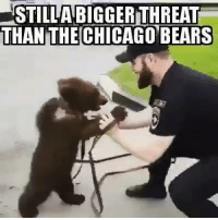 Pretty much...: STILLAMBIGGERTHREAT  THAN THE CHICAGO BEARS Pretty much...