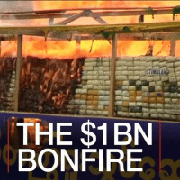 Drugs, Heroin, and Memes: STIMULAN  THE $1BN  BONFIRE 26 JUN: Drugs worth nearly $1bn have been torched by Myanmar and Thailand to mark International Day Against Drug Abuse and Illicit Trafficking. Record seizures of narcotics from the borderlands of Myanmar, Laos, southern China and northern Thailand have been made in the last 12 months. Some countries have strict laws against drug peddling which includes capital punishment. Drugs Heroin Cocaine Narcotics Thailand Myanmar Cambodia AntiDrugsDay BBCShorts BBCNews @BBCNews