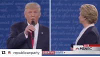 One year ago today, Trump dropped one of the best one liners of all time. trump maga: stituted mon  de  te alter or to aichisto  ds, it is the  onent.  o/  y to effect thei  ion  ce,  are uccustomed  LIVE  MSNBC  republicanparty  SDERLINE DEBATE★ One year ago today, Trump dropped one of the best one liners of all time. trump maga