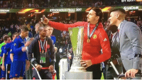 Memes, Selfie, and Soccer: STOCKHOLM FNAL 2017 Zlatan pushing Rojo away from being in his selfie with the cup 😂😂😂 @instatroll.soccer