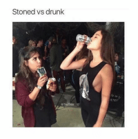 Drunk, Memes, and 🤖: Stoned vs drunk  @ TopTree Which one are you going to be this New Years?? 👇👇🎉