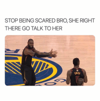 Homie, Her, and One: STOP BEING SCARED BRO, SHE RIGHT  THERE GO TALK TO HER  SMITH There's always that one homie...😂💯 https://t.co/NFASkxF4hm