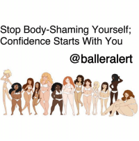 "Beautiful, Confidence, and Life: Stop Body-Shaming Yourself;  Confidence Starts With You  @balleralert Stop Body-Shaming Yourself; Confidence Starts With You -blogged by @peachkyss ⠀⠀⠀⠀⠀⠀⠀ ⠀⠀⠀⠀⠀⠀⠀ On an episode of ""The Real,"" Tamera Mowry-Housley talked about gaining over 70 pounds while carrying her youngest child. Further into the conversation, the talk show host divulged the difficulty she's had trying to lose the post-pregnancy weight. ⠀⠀⠀⠀⠀⠀⠀ ⠀⠀⠀⠀⠀⠀⠀ What really hit me was when Tamera brought up body shaming, and how we often body shame ourselves. Over the years, I️ have learned that we are often our worst critics. Opinions from others do hurt at times but what hurts the most is how hard we are on ourselves. ⠀⠀⠀⠀⠀⠀⠀ ⠀⠀⠀⠀⠀⠀⠀ It doesn't matter if you've been overweight all your life, gained weight over the years, or just had a baby, we have to learn to love and appreciate ourselves. We often get so caught up in what other people think of us, that we begin to make adjustments based on others' opinions. ⠀⠀⠀⠀⠀⠀⠀ ⠀⠀⠀⠀⠀⠀⠀ When you are sick and tired of how you look in the mirror, you will make a change. But the change is on your terms, no one else's. So stop body-shaming yourself and learn to love and accept who you are. ⠀⠀⠀⠀⠀⠀⠀ ⠀⠀⠀⠀⠀⠀⠀ You are beautiful and most importantly, you are ""You,"" and no one else can change that."