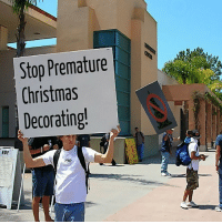 this-chapters-called:  The real problems: Stop Premature  Christmas  Decorating  RUF this-chapters-called:  The real problems