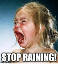 Texas right now....: STOP RAINING  imgflip.com Texas right now....