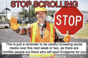 Stop Scrolling Pictures, Photos, and Images for Facebook ...  Stop Scrolling Flush Meme