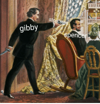 Irl, Me IRL, and Gibby: stops  gibby  spencer me_irl