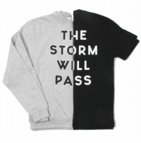 STORM  SS  LS  ERLS  011 A  TTWP Although the skies seem dark, although the light seems dim, The Storm Will Pass. store.twloha.com