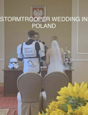 Meanwhile in Poland - Welcome to the dark side.: STORMTROOPER WEDDING IN  POLAND  om Meanwhile in Poland - Welcome to the dark side.