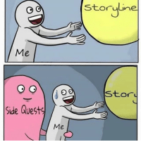 Lol the first one is me on Zelda Breath of the Wild. I'm trying to all the sidequests first 😅 ➖ Check Out The Homies! ➖ @bunnyrages ➖ @itsiihades @glizzly_ ➖ @exitz_ @gamersbanter ➖ @mr.aloharice @bloodransom ➖ @xoprettynpinkxo @senseisdarksiders ➖ @lil_twink__ ➖ CoD CallOfDuty VideoGames Nintendo Xbox XboxOne PlayStation PS4 Meme0 BO3 BlackOps BlackOps3 GamerMeme InfiniteWarfare CoD4 CallOfDuty4 CoDMeme GamingClip Gamer BO3 BlackOps3 VideoGameMeme Gaming Games Game: Storyline  storuline  Me  stor  Side Quests  Me Lol the first one is me on Zelda Breath of the Wild. I'm trying to all the sidequests first 😅 ➖ Check Out The Homies! ➖ @bunnyrages ➖ @itsiihades @glizzly_ ➖ @exitz_ @gamersbanter ➖ @mr.aloharice @bloodransom ➖ @xoprettynpinkxo @senseisdarksiders ➖ @lil_twink__ ➖ CoD CallOfDuty VideoGames Nintendo Xbox XboxOne PlayStation PS4 Meme0 BO3 BlackOps BlackOps3 GamerMeme InfiniteWarfare CoD4 CallOfDuty4 CoDMeme GamingClip Gamer BO3 BlackOps3 VideoGameMeme Gaming Games Game