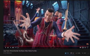 Lazy, Music, and Videos: STOWNO  2:46/2:50  K  Lazy Town We are Number One Music Video Videos For Kids  61,617,360 views  26K  990K  SHARE  SAVE  .. Lets get We are number 1 to 1mil likes