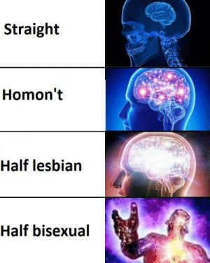 meirl by Death_Fairy MORE MEMES: Straight  Homon't  Half lesbian  Half bisexual meirl by Death_Fairy MORE MEMES
