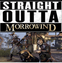 STRAIGHT  OUTTA  MORROWIND They look like they're about to drop the hottest album of this year