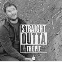 Memes, Straight Outta, and Happy: STRAIGHT  OUTTA  THEPIT @prattprattpratt will you marry me? I'm happy to turn gay if you are