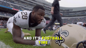 No Drew Brees. No Alvin Kamara.  Still no stopping these @Saints.  Turn that volume up because they made a STATEMENT. ⚜🔊 (via @NFLFilms) https://t.co/UgCUCxkAyQ: STREAM N  AND IT'S FOOTBALL  TIME  28 No Drew Brees. No Alvin Kamara.  Still no stopping these @Saints.  Turn that volume up because they made a STATEMENT. ⚜🔊 (via @NFLFilms) https://t.co/UgCUCxkAyQ