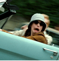 Stress level: princess Mia driving the stang https://t.co/dUiGdfimP2: Stress level: princess Mia driving the stang https://t.co/dUiGdfimP2
