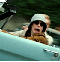 Driving, Princess, and Girl Memes: Stress level: princess Mia driving the stang https://t.co/GiO77DwTFq
