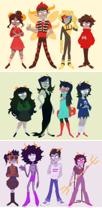 Target, Tumblr, and Blog: stripedpants:  Last but not least the alpha trolls!And with that we did it kids! I've drawn all the main kids and trolls of homestuck! Thanks for following me through this is was alot of fun! I'm really glad you guys liked what I've been doing :')